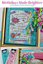 creating a birthday gift out of greeting cards