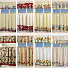 Kitchen Curtains With Grapes by Fruit Kitchen Curtains Ebay