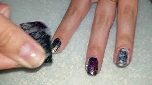 nail art for beginners 31 how to do a foil nail design youtube