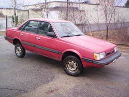 subaru pink 1989 subaru gl information and photos momentcar