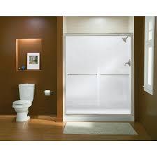 Sterling Finesse Shower Door Sterling Finesse Frameless Sliding Shower Door 5475 59n G05