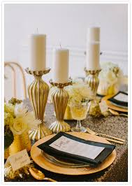Gold Table Decorations It Should Be Exactly As You Want Because It U0027s Your Party Gold