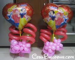 centerpieces disney princess cebu balloons and party supplies