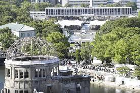 on 72nd a bomb anniversary hiroshima highlights japan u0027s refusal