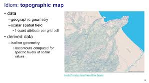 Isoline Map Definition Visualization Analysis U0026 Design Full Day Tutorial Session 2 Ppt