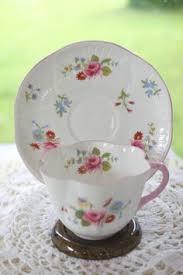 shelley rock garden gainsborough fawn yellow tea cup and saucer