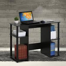 Shelf Computer Desk Desks Home Office Furniture The Home Depot