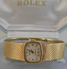 gold bracelet rolex images Ladies rolex vintage 9ct gold bracelet watch pre owned jpg