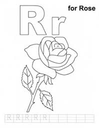 r coloring pages virtren com