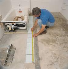 how to tile a bathroom floor polstein s hardware