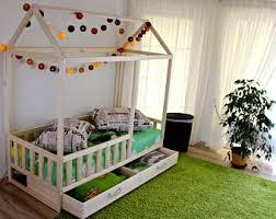 Montessori Bedroom Toddler Toddler Bed Etsy