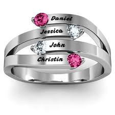 mothers infinity ring mothers rings personalizable and engravable jewlr