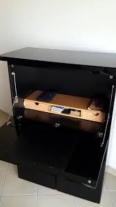 bureau laque noir achetez bureau secrétaire occasion annonce vente à vincennes 94