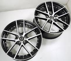 lexus ls430 usa gianelle monaco 22 x 9 0 10 5 black b1 wheels lexus ls430 5x114