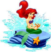 free litle mermaid ariel disney clipart disney animated