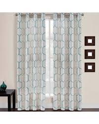 95 Inch Curtain Panels Bargains On Portinari Grommet Top 95 Inch Window