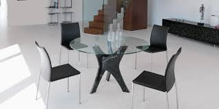 Italian Dining Tables And Chairs Brera Glass Dining Table Shop Italy Design