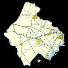 Northern Virginia County Map by The Art Of Real Estate Team
