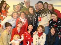 mama deak speaks an ugly christmas sweater party for su2c