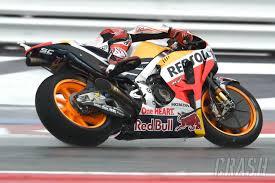 honda gbr marquez squares up motogp title race wit visordown