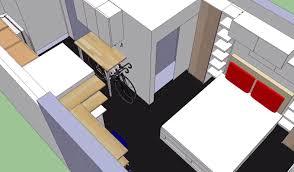 see ikea u0027s storage maximizing makeover of a 300 sq ft studio