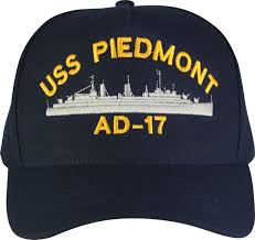 states navy custom embroidered ship caps
