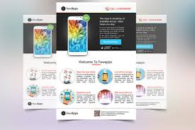 advertising template free mobile app flyer template flyer templates creative market