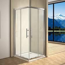 Cw Shower Doors by Aica Bifold Pivot Sliding Quadrant Shower Door Wet Room Glass