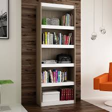 modern shelving panama 28 u0027 u0027 oak bookcase eurway