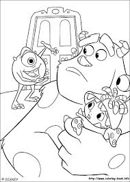 monsters coloring pages coloring book