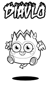 moshi monster angel coloring pages color luna
