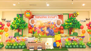 birthday party stage decoration google search 1st birthday