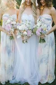 27 dreamy watercolor bridesmaids dresses happywedd - Watercolor Bridesmaid Dresses