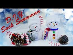 Diy Sock Snowman Diy Sock Snowman Christmas Decor Gift Idea Youtube