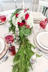 christmas dinner table setting christmas eve dinner table setting west coast capri