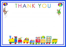 kids thank you cards drawing kids photo thank you cards trains colorful pictures