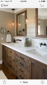 image result for bathrooms with espresso cabinets home