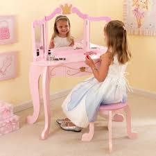 kidkraft princess table stool vanity stool