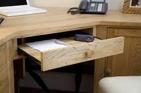 Modern Oak Desk Kingston Solid Modern Oak Furniture Office Corner Pc Computer Desk