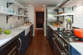cabinet lighting galley kitchen galley kitchen makeover ideas to create more space