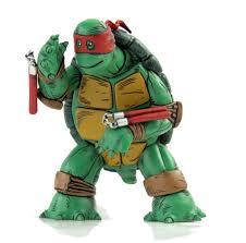 turtle figure color version red mask u2013 mondo