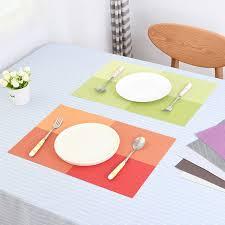napperon de cuisine 1 pc européenne vérifié pvc table à manger napperon cuisine