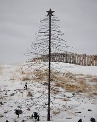 wire tree frame lights decoration