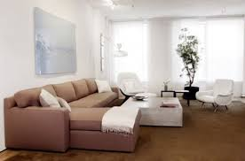 Modern Small Apartment With Attractive Furniture Design Home - Interior designs for small apartments