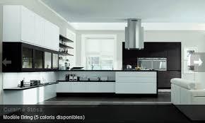 rdv cuisine cuisine contemporaine noir blanc stosa mon rdv habitat