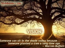 vision a quote by warren buffett inspirational quotes