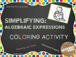 best 25 simplifying algebraic expressions ideas on pinterest