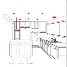 Where To Place Recessed Lights In Kitchen Recessed Lighting Layout In Kitchen Kitchen Pinterest