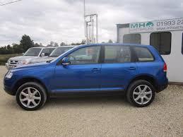 volkswagen touareg blue used volkswagen touareg suv 3 2 v6 5dr in woodstock oxfordshire