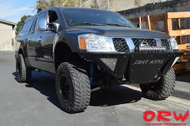 nissan titan mid travel kit offroadwarehouse offers dirt king fabrication products nissan